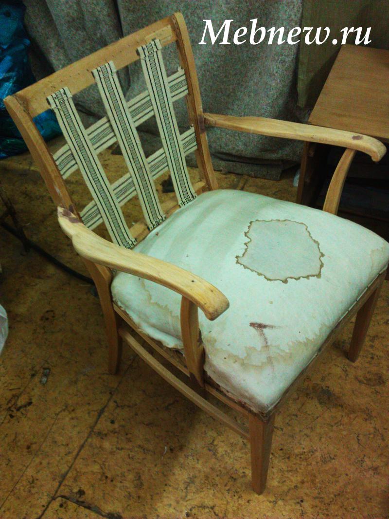 Ремонт своими руками старинного кресла 71